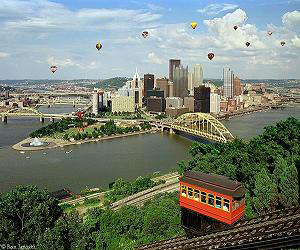 Photo of Pittsburgh with Incline